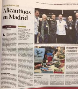 El Información Uvas Cabrera Madrid Fusión