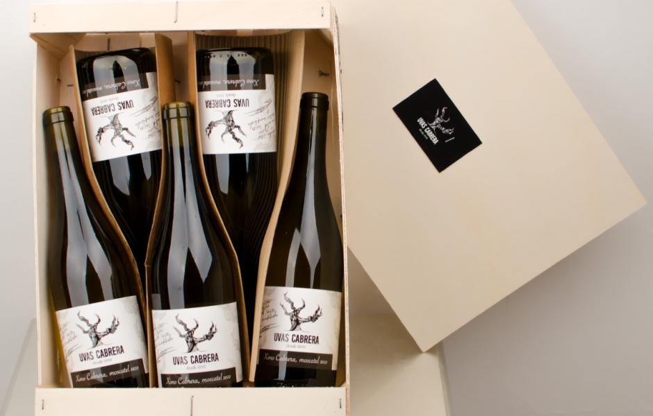 caja vino
